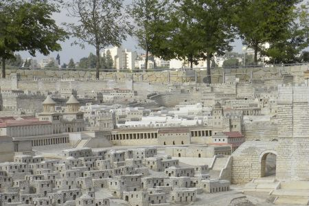Model of Jerusalem at the Time of the Second Temple