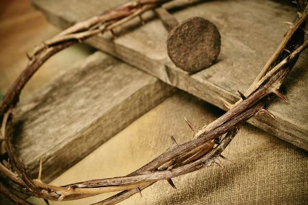 The Cross, the Nail, the Crown of Thorns