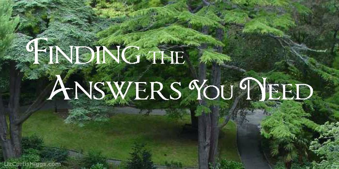 Finding the Answers You Need